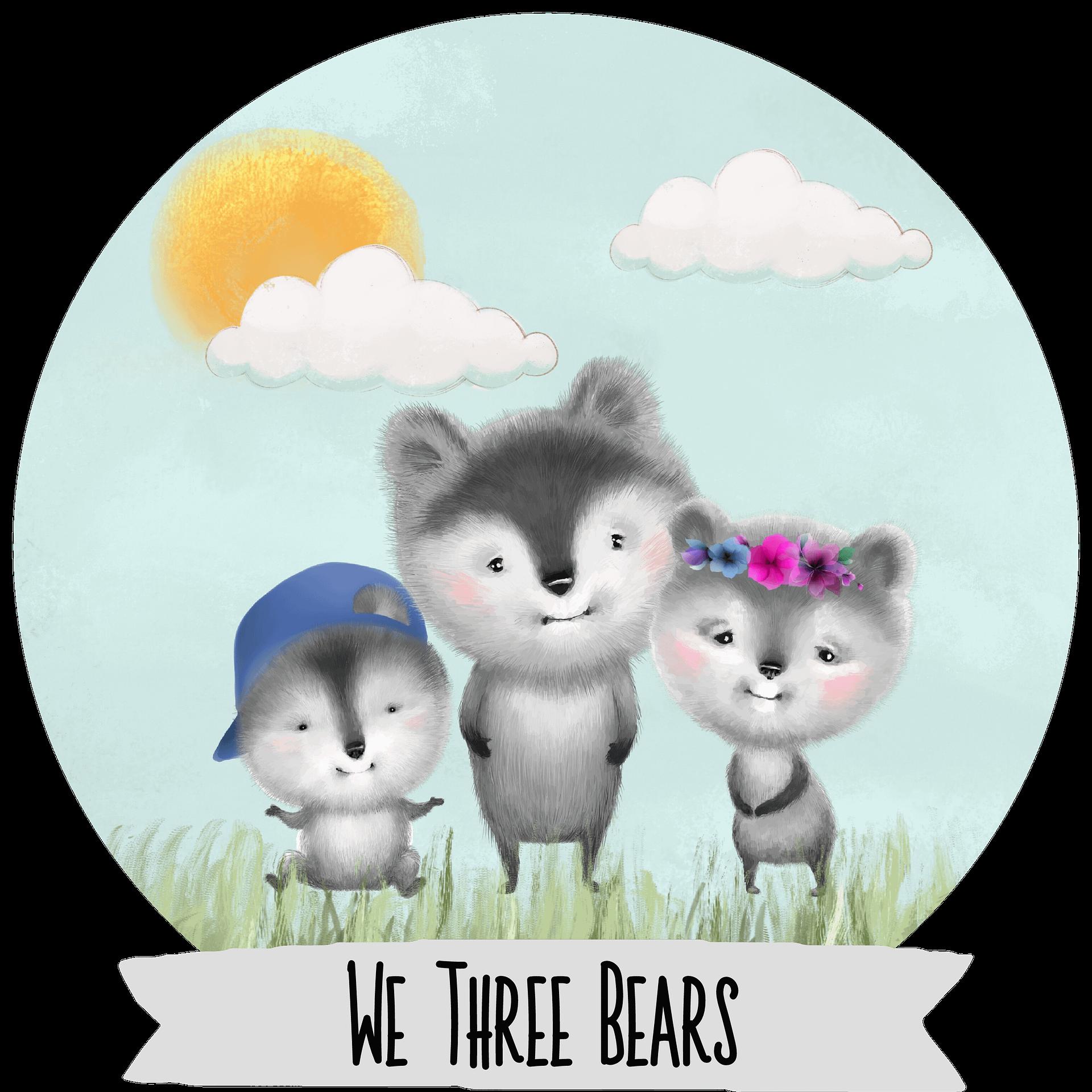 We Three Bears Logo